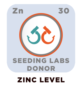 Zinc level donor badge