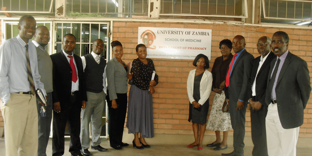 University of Zambia Department of Pharmacy faculty