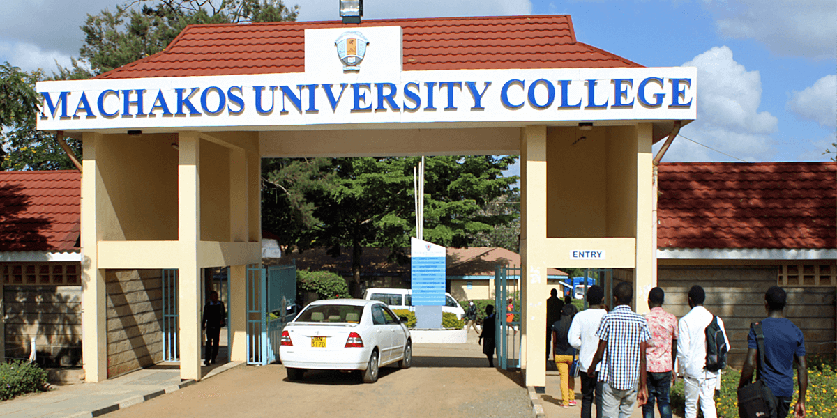 Machakos University College campus