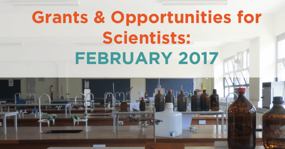 Feb. 2017 Grants & Resources
