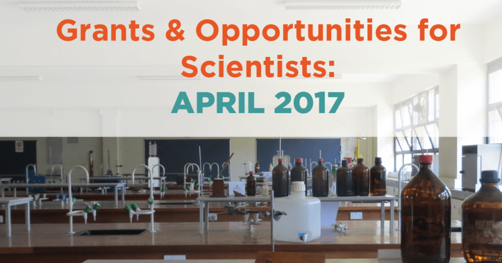 April 2017 Grants & Opportunities