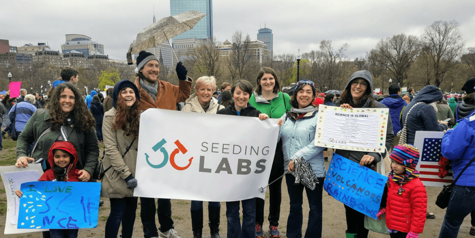 March for Science Seeding Labs group