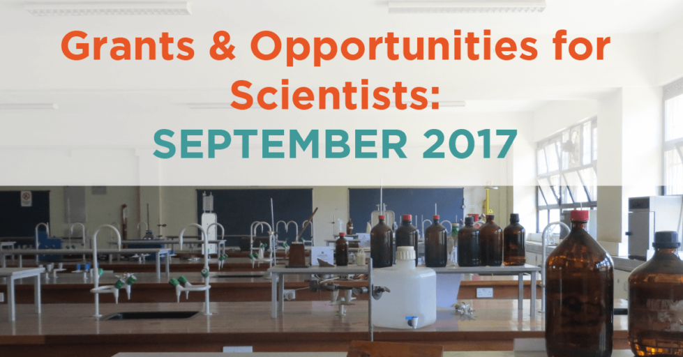 September 2017 Grants & Resources