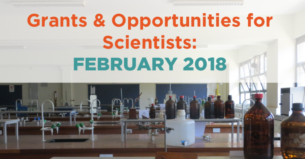 February 2018 Opportunities