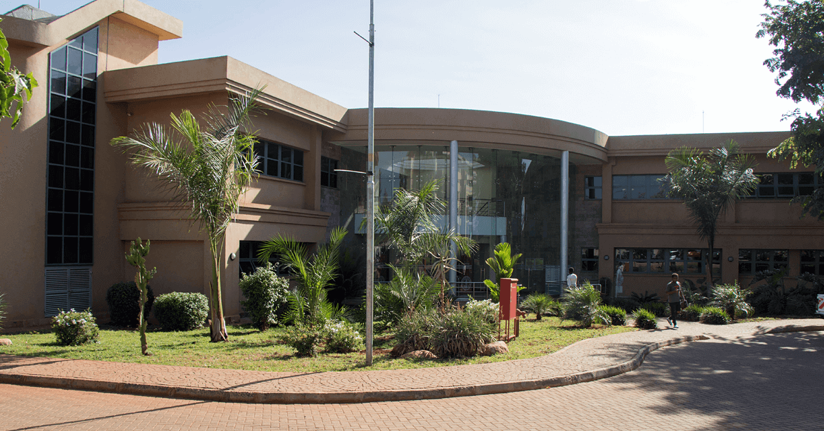 The USIU-Africa Science Center building