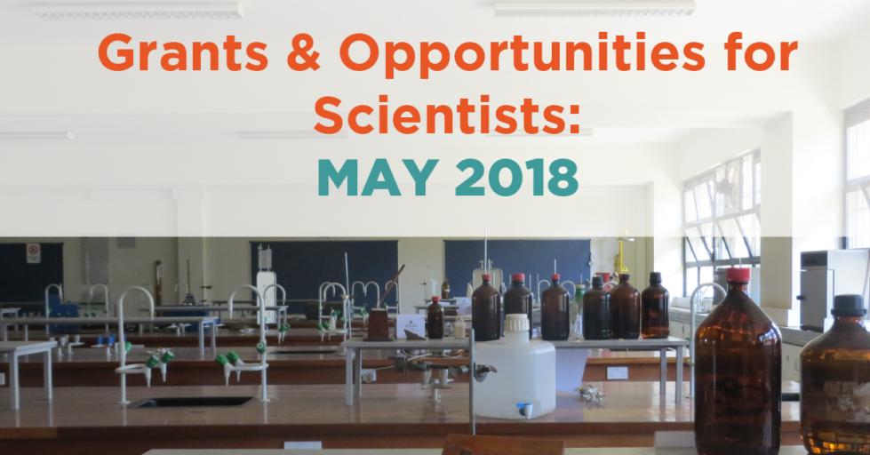 May 2018 Grants & Resources