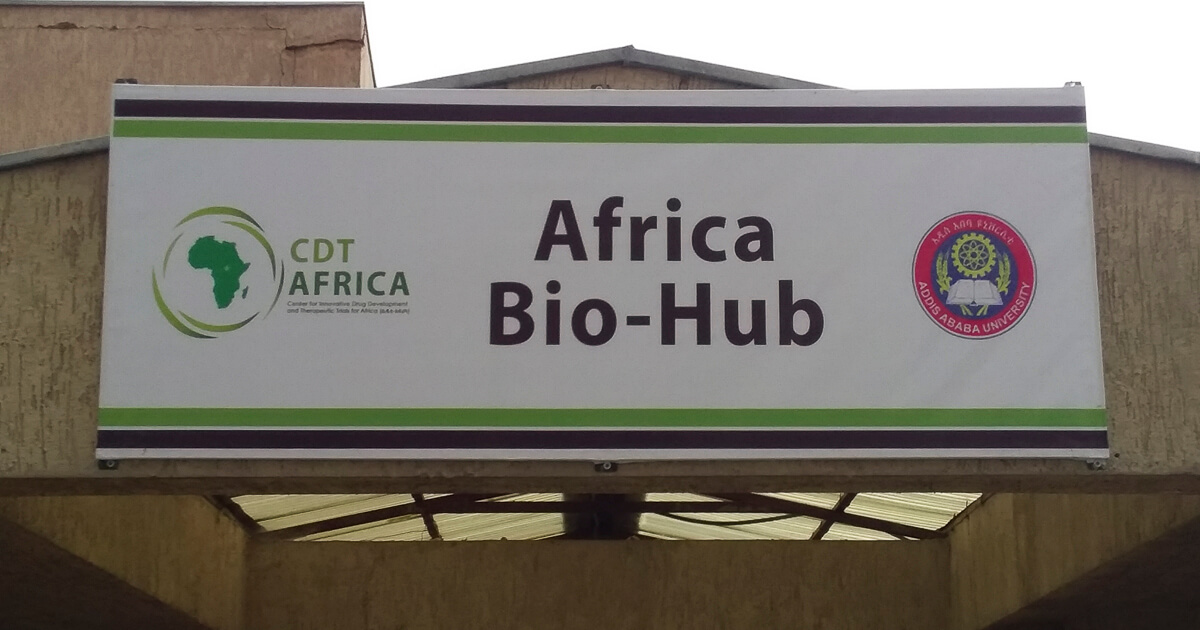 Africa Bio-Hub building at Sefereselam campus (CDT-Africa)